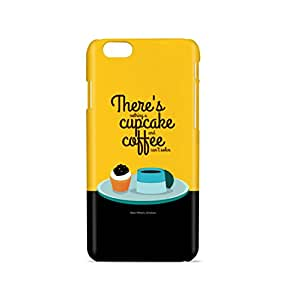 Cupcake and Coffee Mobile Back Cover Case For Apple iPhone 6 / 6s