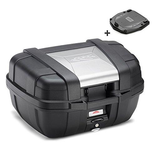 Topcase-Kymco-Grand-Dink-50-Kappa-KGR52-Monokey-52-Liter-schwarz