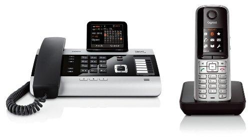 Siemens Gigaset DX600A, SET mit 1x S810H Mobilteil - ISDN, Anrufbeantworter, Bluetooth® ECO DECT