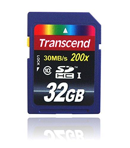 32 GB SDHC Class 10 Speicher Karte