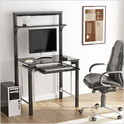 Buy Low Price Comfortable Z-Line Designs ZL798-01DU Manhattan Computer Desk (B002JFY3WA)