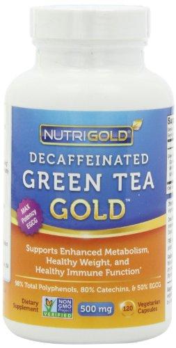 decaffeinated green tea benefits weight loss