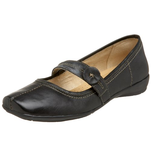 Naturalizer Women's Referee Mary Jane,Black,8 WW