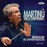 echange, troc  - Bohuslav martinu les six symphonies