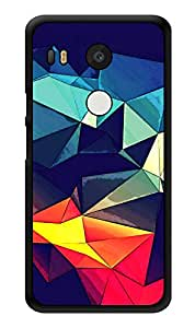 "Humor Gang Colored Crystals Printed Designer Mobile Back Cover For ""Lg Google Nexus 5x"" (3D, Glossy, Premium Quality Snap On Case)"
