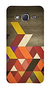 SWAG my CASE PRINTED BACK COVER FOR SAMSUNG GALAXY J7 Multicolor