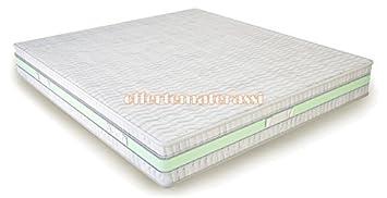 Materasso matrimoniale 100% Lattice Total Natural Effetto Casa 160x190-195-200 cm