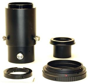 Deluxe Telescope Camera Adapter Kit for Canon EOS /Rebel DSLR - 1.25