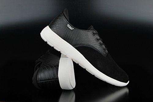 WAU - WC96007 - LIGHTWIND - Sneakers casual da uomo - Taglia: 44 - Colore: Nero