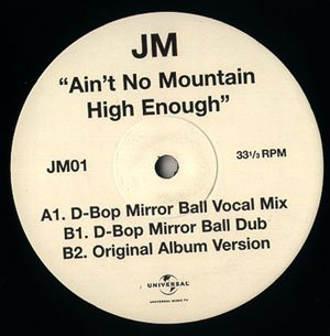 JM (JANE MCDONALD) - Ain't No Mountain High Enough - 12 inch 45 rpm