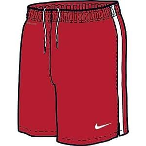 NIKE Jungen Short DF Knit NB, varsity red/white, XL, 413169