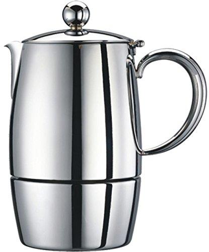 Cuisinox Firenza 10 Cup Espresso Coffeemaker, Silver