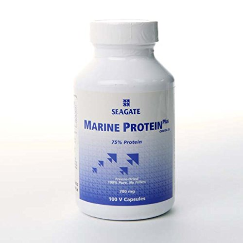 Marine Protein 700 Mg By Seagate, (100 Veg Capsules)