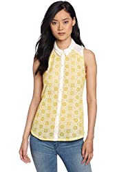Lucky Brand Women's Vivienne Collared Top