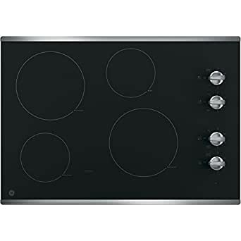 Amazon Com Ge Jp3030sjss 30 Quot Electric Cooktop With 4