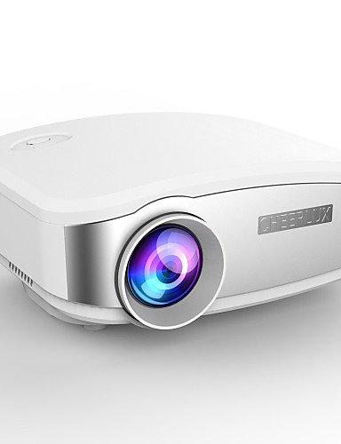cheerlux® c6 HD Mini projecteur portable conduit pour le home cinéma film de cinéma nuit video tv jeux enfants jouet MHL , eu
