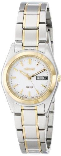 Seiko Women's SUT108 Two-Tone Stainless Steel Solar Watch