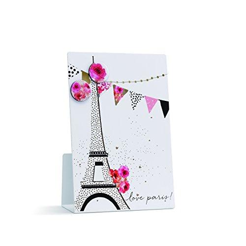 Demdaco 1004150037 Love Paris Magnetic Memo Board (Paris Memo Board compare prices)