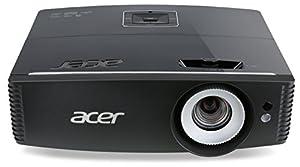 Acer P6600 WUXGA DLP-Projektor (5.000 ANSI Lumen, Kontrast 20.000:1, 1.920 x 1.200, WUXGA,  3 x HDMI, 1 x RJ45, Vertikaler Lens shift, HDBaseT Unterstützung ) schwarz