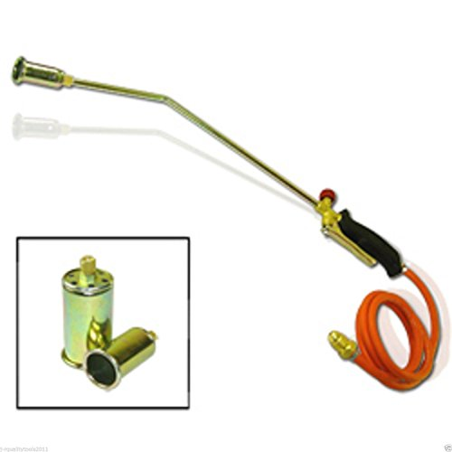 PROPANE BURNING LPG GAS TORCH ICE MELTER ROOFING TAR WEED BURNER TOOL MELTING (Propane Melter compare prices)