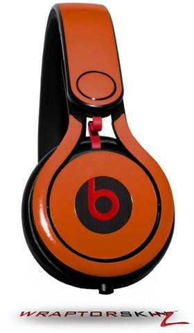 Solids Collection Burnt Orange Decal Style Skin (Fits Genuine Beats Mixr Headphones - Headphones Not Included)