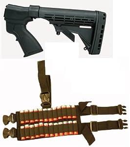 Ultimate Arms Gear Tactical Remington 870 20 Gauge Shotgun Stock Buttstock + Rear... by Ultimate Arms Gear