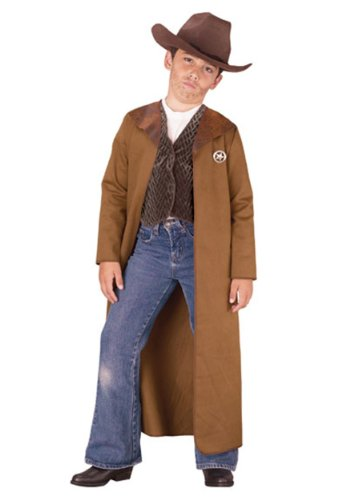 Old West Sheriff Kids Costume
