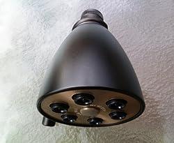 Giessdorf 6 Jet Shower Head - Oil Rubbed Bronze