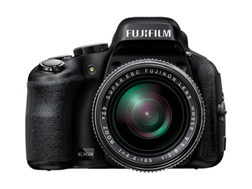 Fujifilm FinePix HS50EXR 16MP Point and Shoot Camera  Black  with 42x Optical Zoom available at Amazon for Rs.31000
