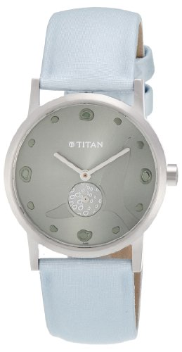 Titan WWF Analog Green Dial Men's Watch - 1223SL02