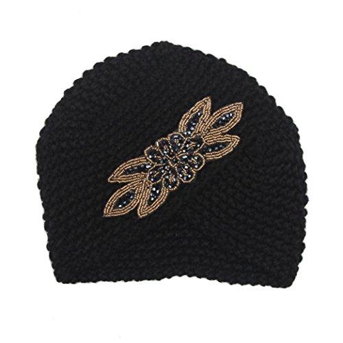 hut-winwintomr-womens-winter-warm-stricken-hakeln-ski-hat-braided-turban-kopfschmuck-cap-schwarz