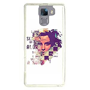 a AND b Designer Printed Mobile Back Cover / Back Case For Huawei Honor 7 (HON_7_2373)