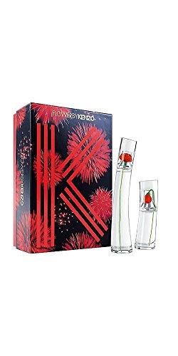 cofanetto donna flower by kenzo - eau de parfum 50 ml + eau de parfum 15 ml