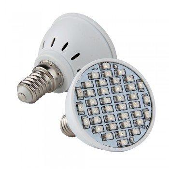 E14 Green 38 3528 Smd Led Spot Bulb Lamp 230V 2W