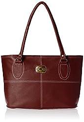 Meridian Women's Handbag Maroon Mrb-044