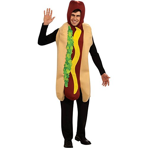 Hot Dog Adult Costume - Standard