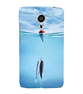 Vizagbeats Fishes and Bambaram Back Case Cover for MEIZU MX 5