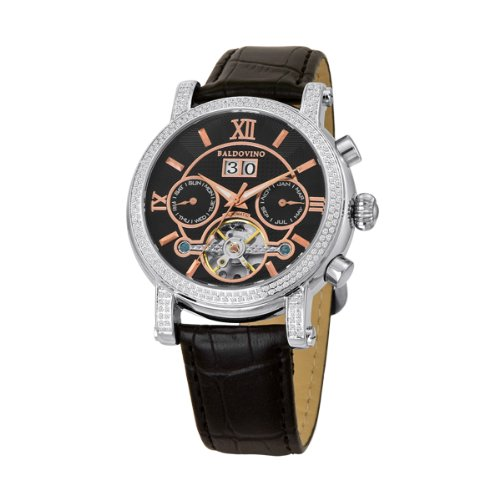 Customer Guide: Baldovino Men's 1.94cts Diamonds Studded Watch