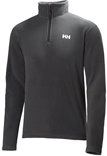 helly-hansen-mens-day-breaker-1-2-zip-fleece-jacket-ebony-medium