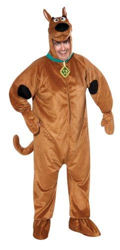 Rubie's Costume Adult Scooby-Doo Costume, Brown, Plus