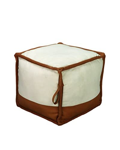 Jamie Young Pouf, Canvas