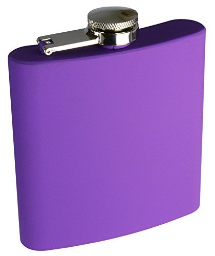 Purple Liquor or Beverage Flask