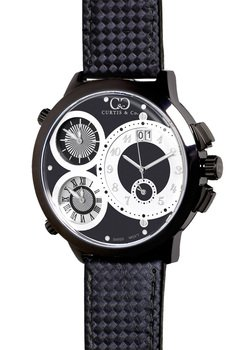 CURTIS & Co. Timepieces W4BK-B