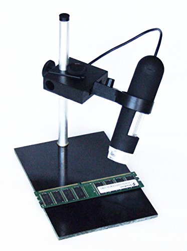 Autek 1000X Usb Digital Microscope 8 Led W/Adjustable Stand F/ Vista/Win7/ Mac