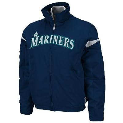 MLB Seattle Mariners Triple Peak Women's Jacket, Navy Silver