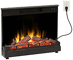 Muskoka MFI2500 Masonry Electric Fireplace Insert, 24-Inch