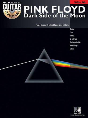 PINK FLOYD VOLUME 68 BK/CD   DARK SIDE OF THE MOON (Hal Leonard Guitar Play-Along)