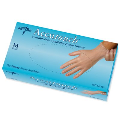 Accutouch Powder-Free Nitrile Exam Gloves - Small, 100/box