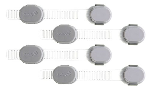 Safety 1st Adjustable Custom Fit All Purpose Strap - 4 Count