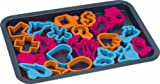Bakers Wave Cookie Sheet with 22 Cookie Cutters 17